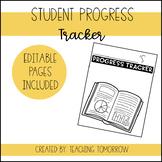 Student Progress Tracker Binder (Editable)
