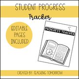 Student Progress Tracker Binder (Editable)