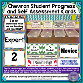 Chevron Student Progress and Self Assessment/Formative Check Cards