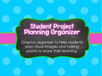Student Project Planning Organizer