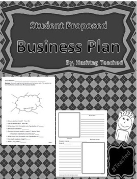 Differentiated Student Proposed Business Plan - Covers Supply and Demand