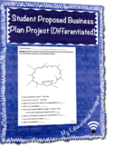 Student Proposed Business Plan Project (Differentiated)