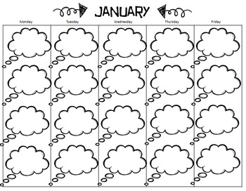 Student Quote Calendar