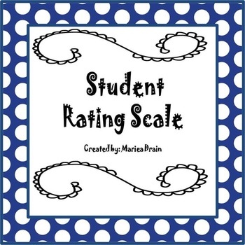 Student Rating Scale for Any Classroom