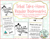 Student Reader Take-Home Book Marks - an alternative to cumbersome reading logs!
