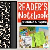 Student Reader's Notebook   Printable & Digital   Distance