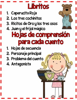 Student Readers Fairy Tales in Spanish