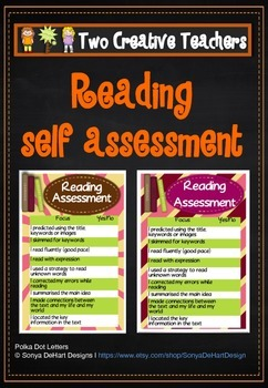 Student Reading Assessment Tool for Teachers