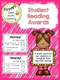 Student Reading Award