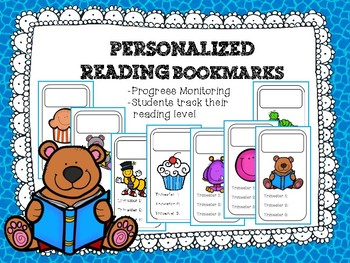 Student Reading Bookmarks