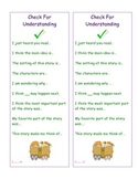 Student Reading Comprehension and Strategy Reminders Bookmarks