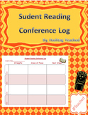 Student Reading Conference Log Template