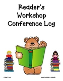 Student Reading Conference Log