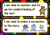 Student Reading Goals Clip Chart/Display {Daily CAFE and Marzano inspired}