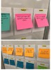 Student Reading Goals on Post-Its