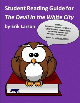 Student Reading Guide for The Devil in the White City by Erik Larson