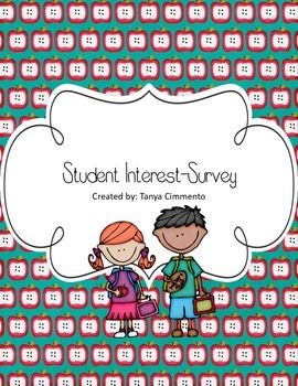 Student Reading Interest Survey