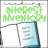 Student Reading Inventory