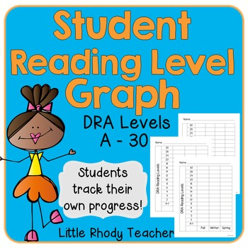 Student Reading Level Graph Worksheets Teaching Resources