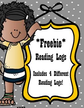 Student Reading Log FREEBIE