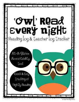 Student Reading Log & Tracker