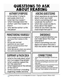 Student Reading Resources and Goals Portfolio