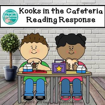 Student Reading Response Book for Kooks in the Cafeteria, By Timothy Roland