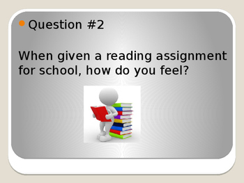 Student Reading Survey - Students' Attitudes and Interests About Reading