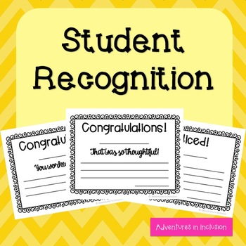 Student Recognition