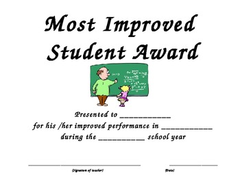 Student Recognition Awards