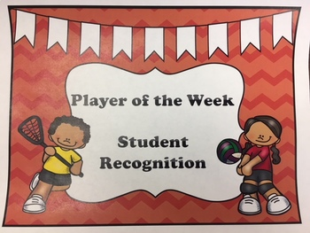 Student Recognition - Player of the Week