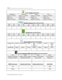 Student Record Sheet