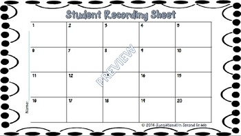 Student Recording Sheets (Scoot, Write the Room, Task Cards)