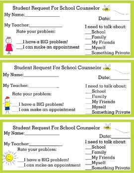 Student Referral for School Counselor