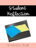 Student Reflection Forms