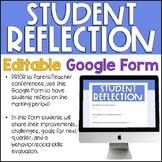 Student Reflection Google Form (Digital)