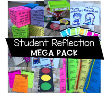 Student Reflection Mega Pack