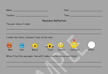 Student Reflection Sheet