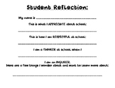 Student Reflection for I.B. PYP