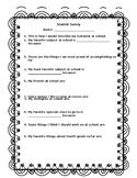 Student Reflection for Parent Teacher Conferences