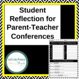 Student Reflection for Parent-Teacher Conferences