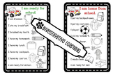 Student Reminder Charts - I Am Ready For / Home From School!