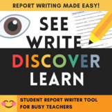 Student Report Writer (full) - Report writing made easy!