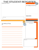 Student Report Template