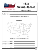 This Great State! (Student Research and Writing Template)