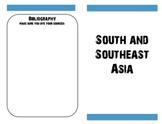 Student Research for South and Southeast Asia