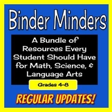 Student Resource Bundle - Posters, Anchor Charts, and Crib Note Cards