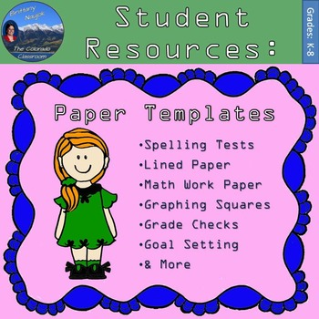 Student Resources: Paper Templates