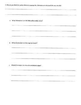 Student Response Journal and Discussion Points for Roanoke: The Lost Colony