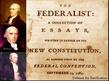 Student-Response Questions for Federalist Papers #10 & #51